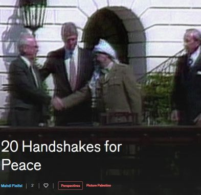 20 Handshakes for Peace (Suspended Time)