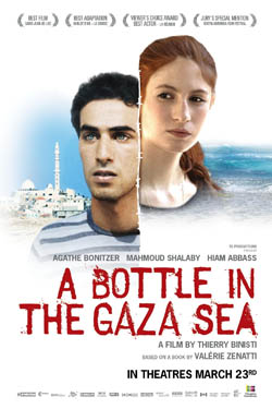 A Bottle in the Gaza Sea (Une bouteille dans la mer de Gaza)